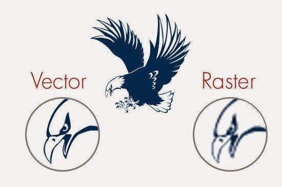 vector versus raster art
