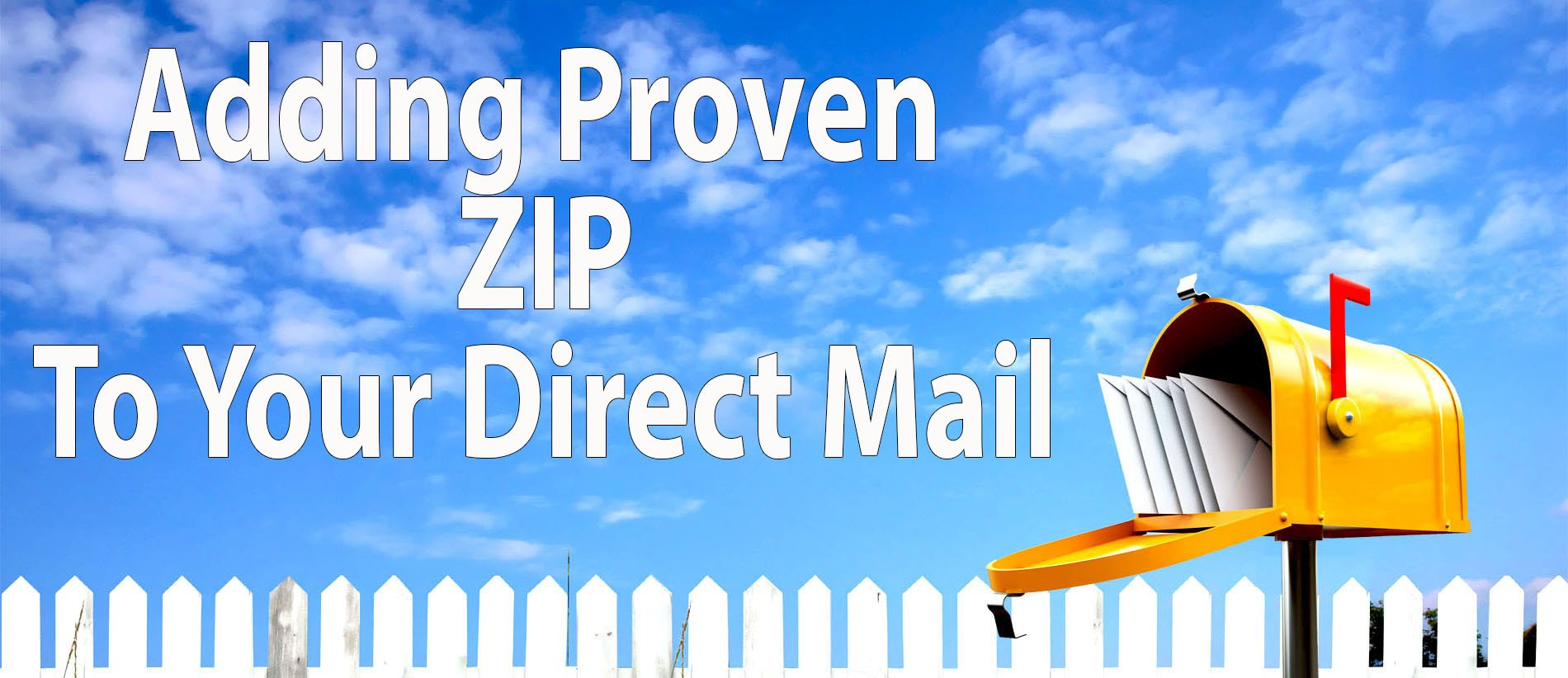 add zip to direct mail