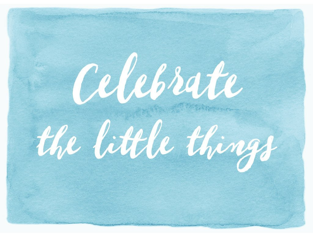 hasseman celebrate little things