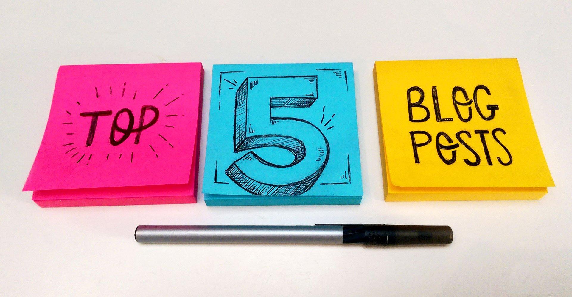 top marketing blog posts of 2020