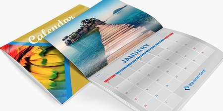producing calendars in coshocton