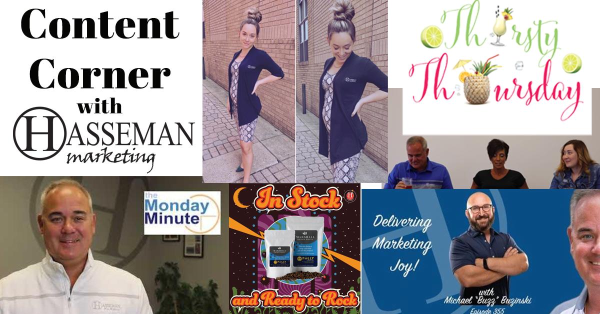 content corner at Hasseman Marketing